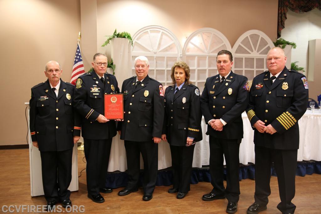 Chaplain Joe Gardiner and awards committee