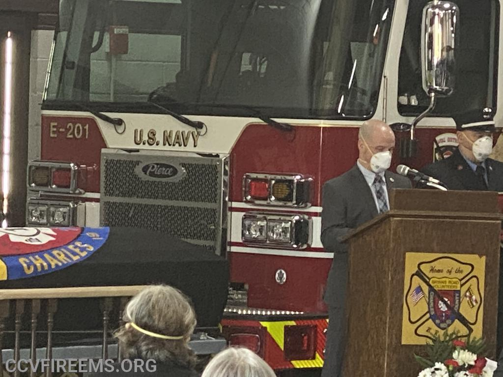 IAFF Local F121 honored Hammy